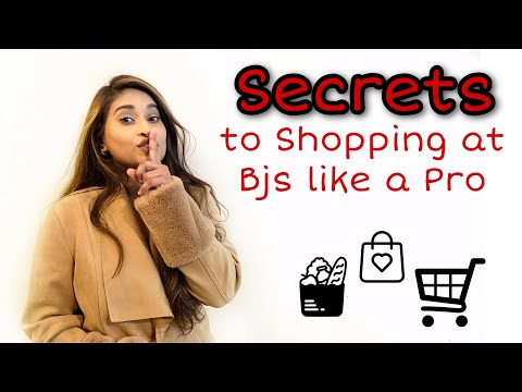 HOW TO SHOP AT BJ'S LIKE A PRO Ll Secrets To Shopping At BJ's Club Warehouse