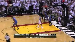 Sefolosha picks Wade, then reverse dunks on him (June 17, 2012)