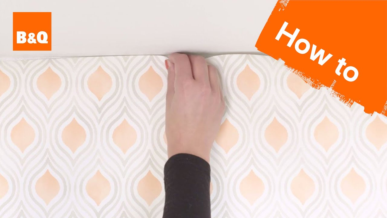 How To Hang Wallpaper Paste The Wall Youtube