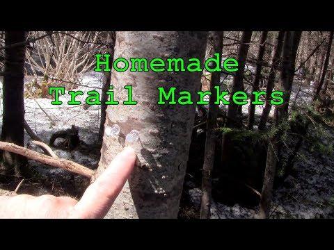 Homemade Trail Markers And Navigation Tacks
