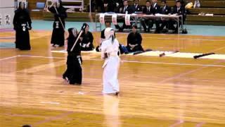 第27回 西日本女子学生剣道大会、福岡市、平成24年5月27日 鹿屋...