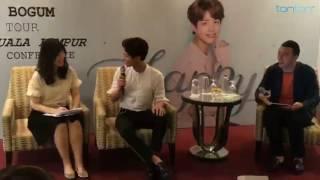 박보검 20161209 2016-2017 PARK BOGUM ASIA TOUR FAN MEETING IN MALAYSIA