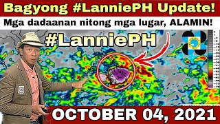 BAGYONG LANNIE UPDATE | PAGASA WEATHER UPDATE TODAY | ULAT PANAHON TODAY |WEATHER FORECAST FOR TODAY