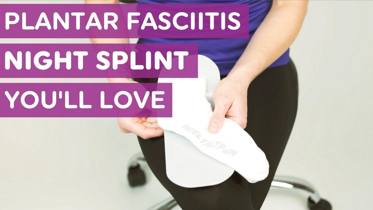 A Plantar Fasciitis Night Splint Alternative You'll Love