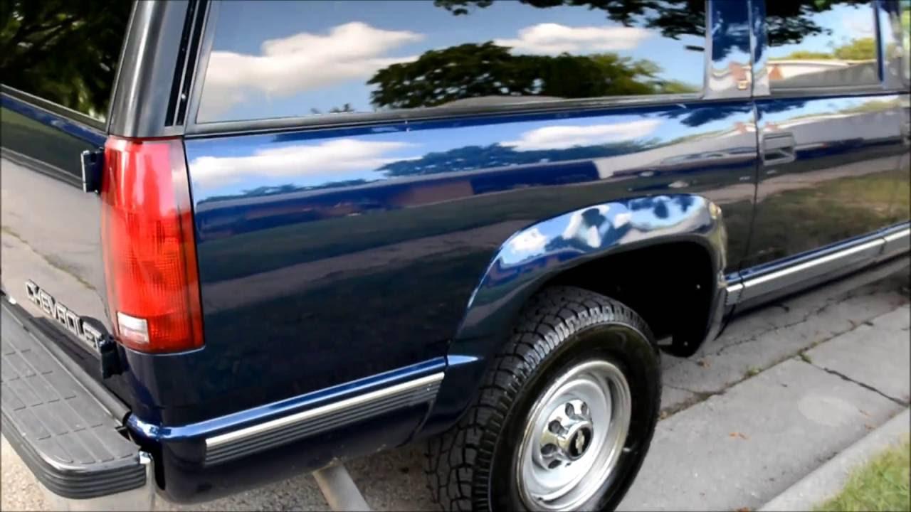 1996 Suburban K2500 4x4 BIG BLOCK INDIGO BLUE ONLY 91K ...