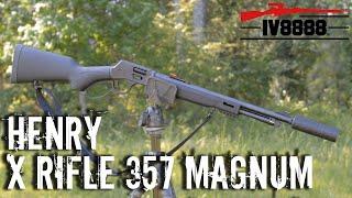 Henry X Rifle 357 Magnum