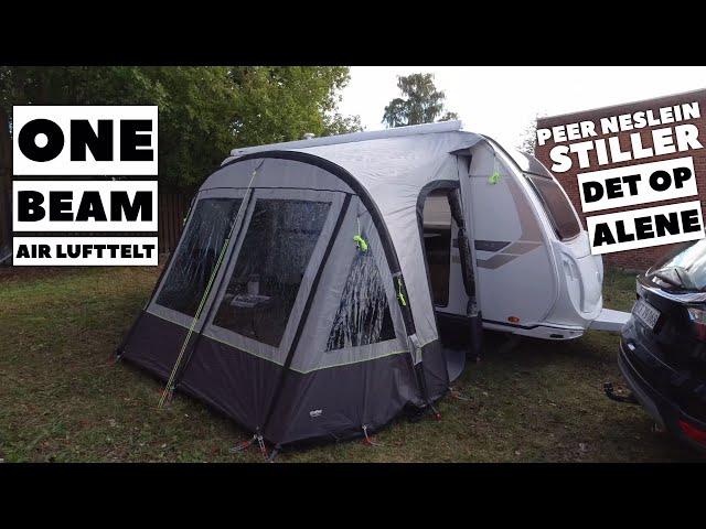 One Beam Air rejsetelt - Peer Neslein stiller det op alene (Reklame)
