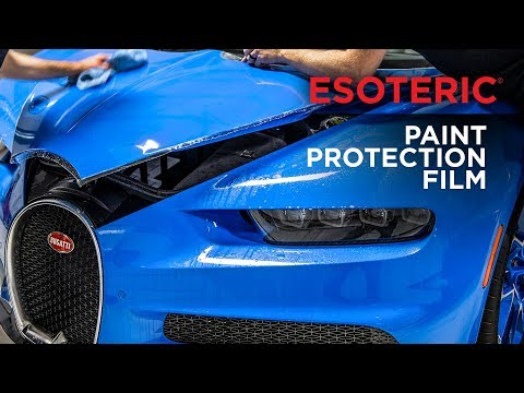 Paint Protection Film (PPF) Installation Services by ESOTERIC!