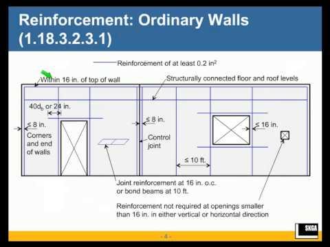 Masonry Shear Wall Design by ASD - YouTube
