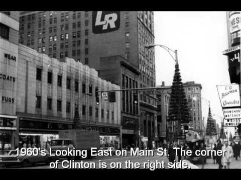 Rochester, N.Y. Clinton Ave & Main St. Journey Through Time