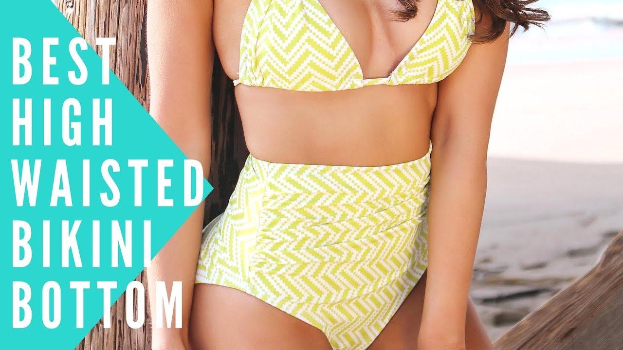 932bf7b1ebdf1 ASHLEY Best High Waisted Bikini Bottom