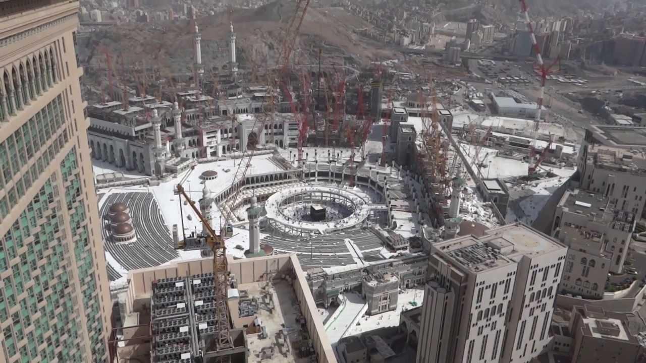 new construction of masjid al haram full hd youtube