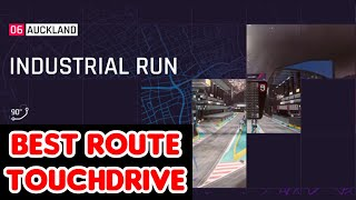 Asphalt 9 - Industrial Run - Best Route for Touchdrive | Auckland - Heatwave Season