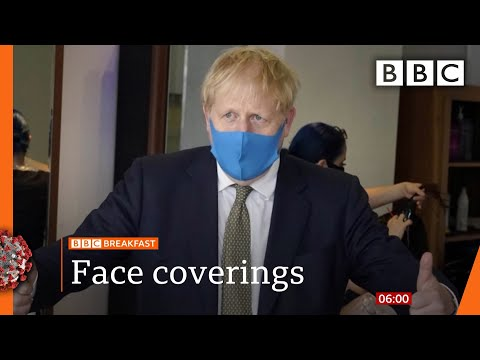 Labour calls for clarity over face coverings in England - Covid-19: Top stories this morning - BBC