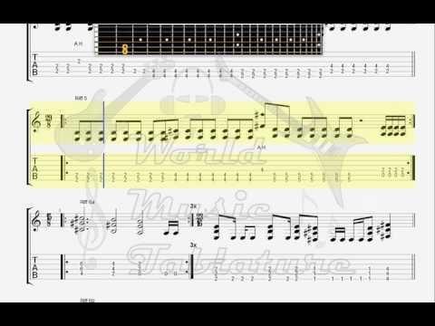 Dornenreich   Schwarz schaut tiefster Lichterglanz GUITAR 1 TAB