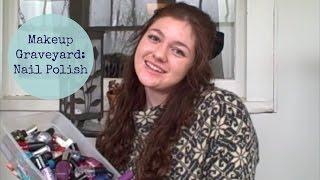 Makeup Graveyard:  Nail Polish Thumbnail