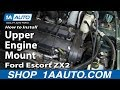 How to Install Replace Upper Engine Mount 1998-03 Ford Escort ZX2