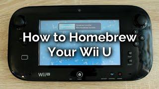 How to Homebrew a Wii U 2016