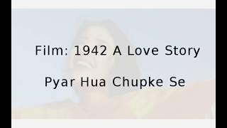 Pyar Hua Chupke Se (Instrumental by Abhishek Pramanik) Resimi