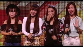 4th Power raise the roof with Jessie J hit | Auditions Week 1 | The X Factor UK 2015 - Stafaband