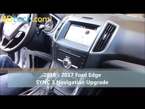 Add Factory Navigation to SYNC 3 | 2016 - 2017 Ford Edge