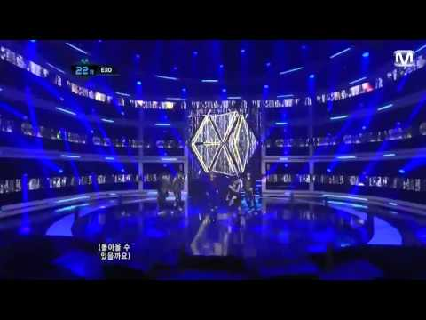 EXO (EXO-K and EXO-M) - MAMA live