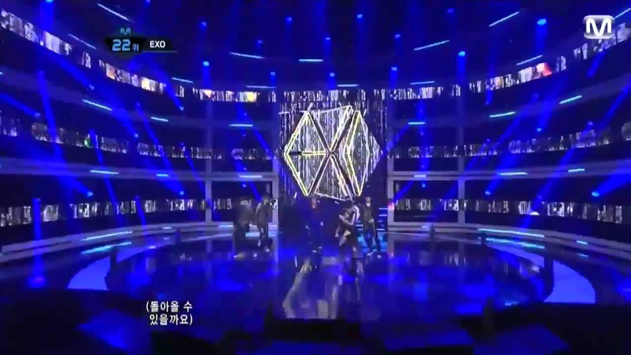 EXO – Mama Live