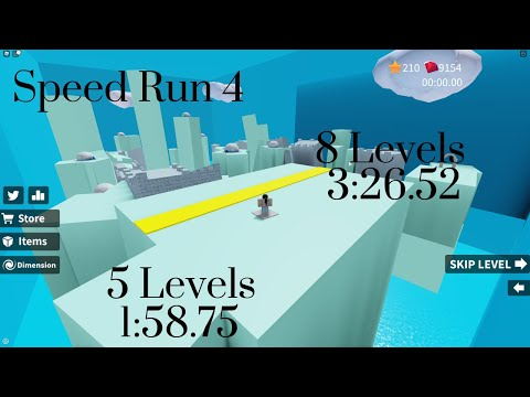 How To Skip Levels In Speed Run 4 Roblox Youtube No Skips In 3m 26s 617ms By Lunaspeed Roblox Speed Run 4 Speedrun Com