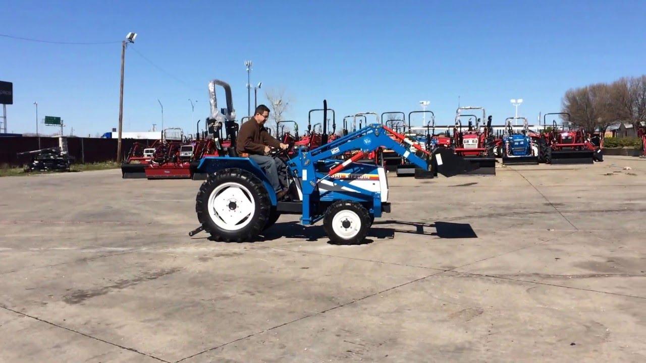Mitsubishi Tractor Mt2201 Parts : Mitsubishi mt hp reconditioned tractor youtube