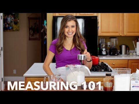 How To Measure Ingredients - THE RIGHT WAY 👍🏻(Dry And Wet)