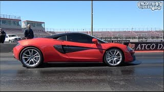 Stock Turbo McLaren 570s Into The 9s - DME TUNING -