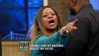 Shocking Lie Detector Test Erupts In Chaos (The Steve Wilkos Show)