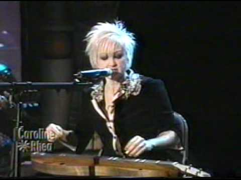 Download Cyndi Lauper - Time After Time (Live on Caroline Rhea in 2003)