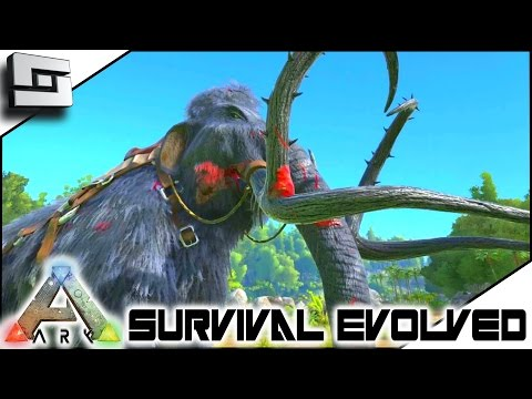 ARK: Survival Evolved - MAMMOTH TAMING! S3E7 ( Gameplay )