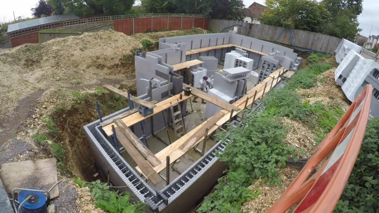 New Build Project In Portsmouth Basement Construction You