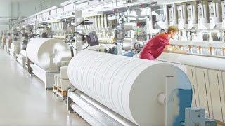 """Naše tkalcovna - čisticí utěrky MEWA """"Made in Germany"""""""
