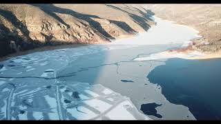 Lost Creek Reservoir UT Fly Over Jan 1st 2021