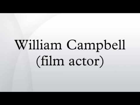 William Campbell film actor
