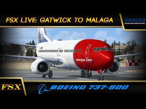 FSX Live: Gatwick to Malaga