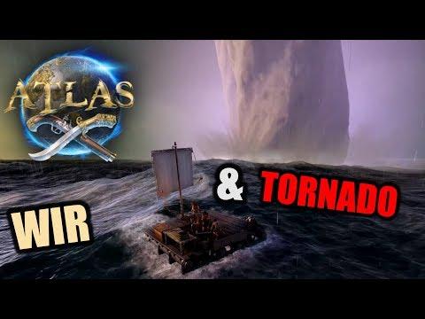 Atlas EU PvP Server #1 Begrüßt von Tornado(s)! | Atlas Gameplay German