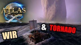 Atlas EU PvP Server #1 Begrüßt von Tornado(s)! | Atlas Gameplay German | Atlas Deutsch