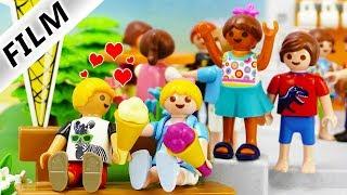 Playmobil Film deutsch   HANNAH + PHILIPPs EISDIELEN DATE   Mathe lernen oder Eis essen? Kinderserie