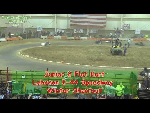 Junior 2 Flat Kart- I-44 Speedway Winter Shootout 1-19-2018