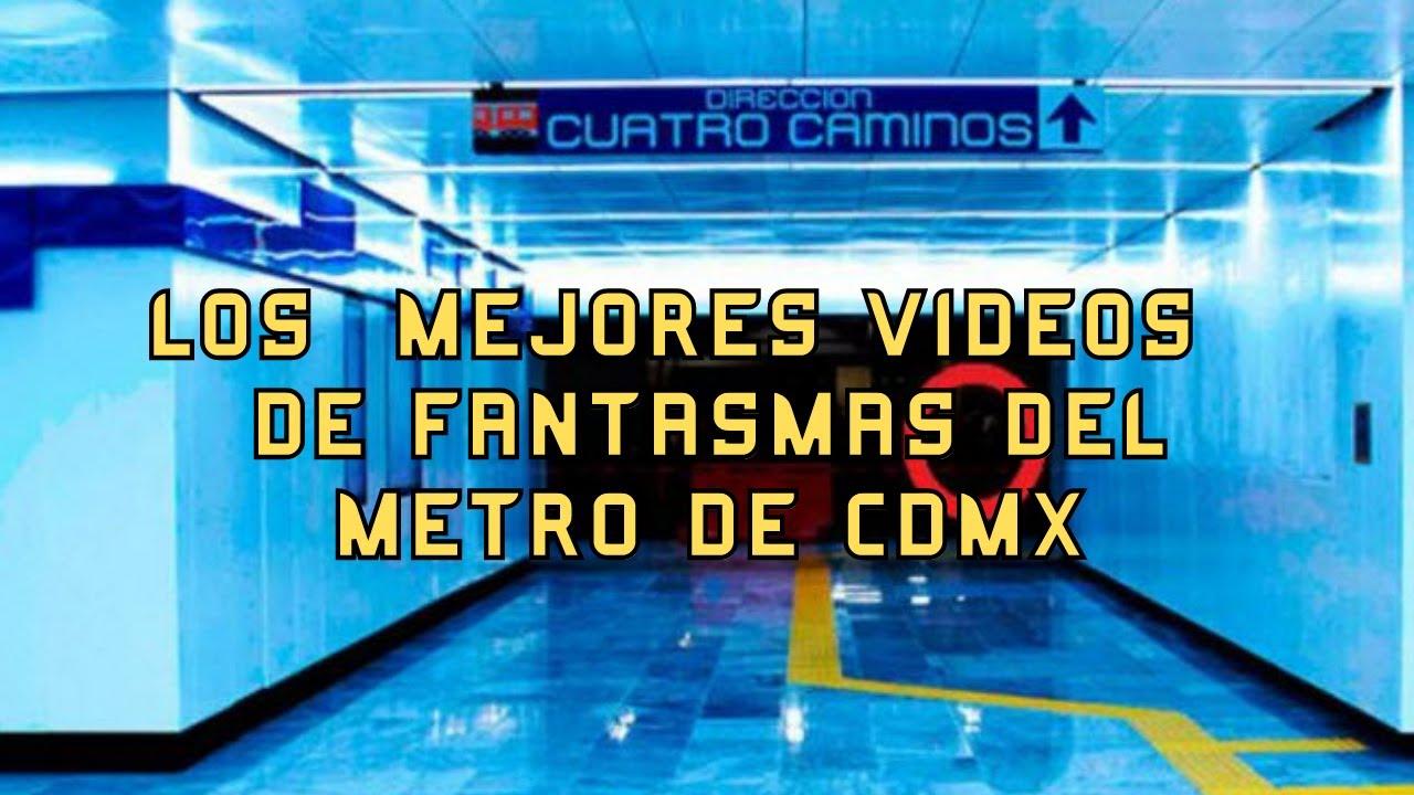 TOP LOS FANTASMAS MAS ATERRADORES DEL METRO DE CDMX l Pasillo Infinito