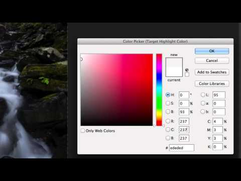 Color Balance Your Photos Using An Area Of White