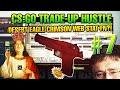 CS:GO TRADE-UP HUSTLE #7 - StatTrak Desert Eagle Crimson Web FN?!