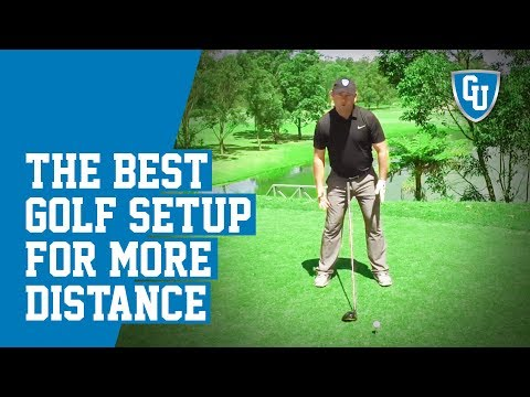 The Best Golf Setup For More Distance  | Distance Mastery Series 1