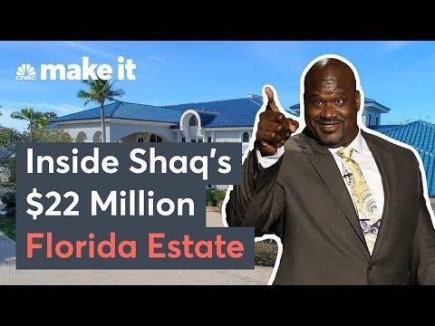 Inside Shaq's $22 Million Florida Mansion