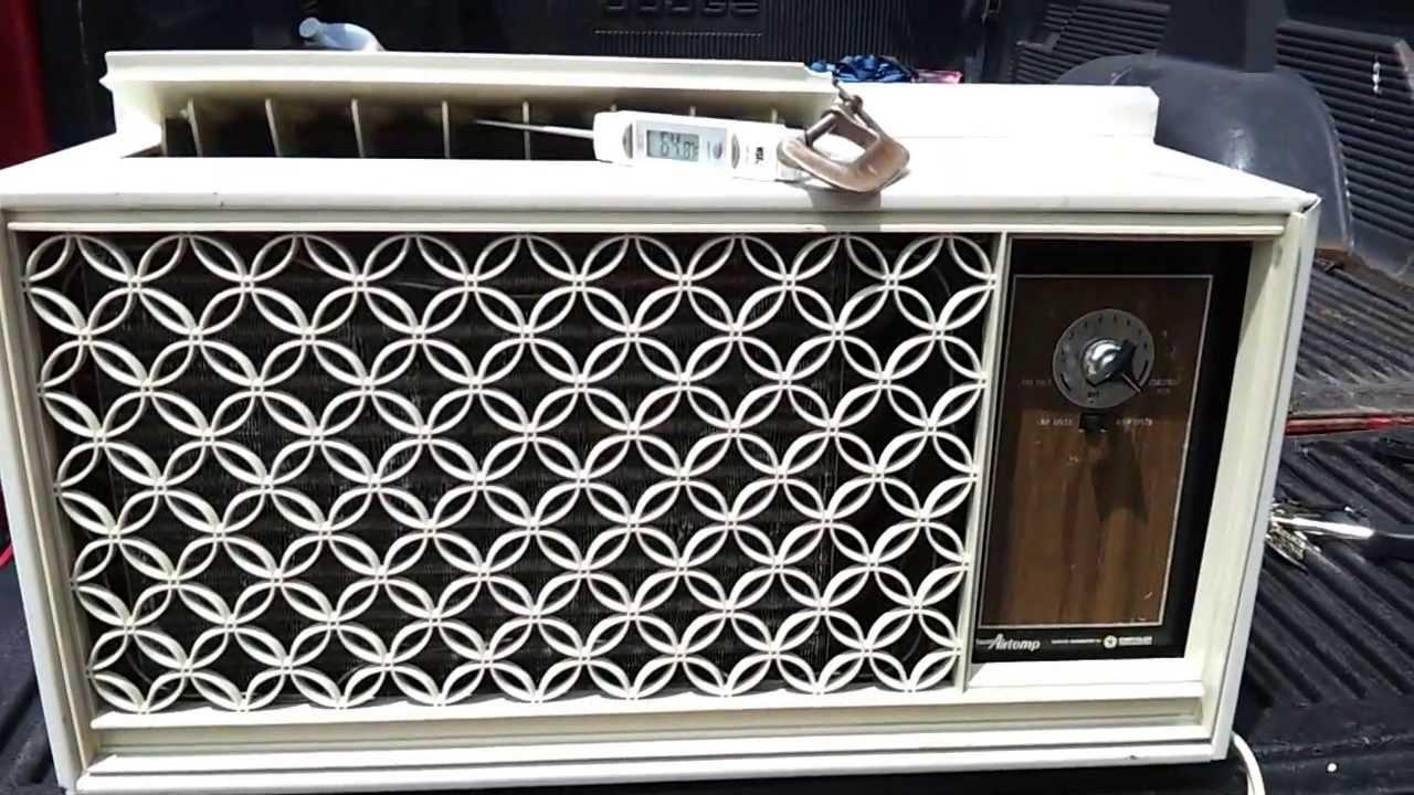 1967 Chrysler Airtemp Window Air Conditioner Part 2 Youtube