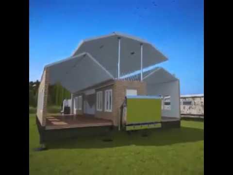Casa del futuro rodante y desarmable youtube - Maison pliable ...